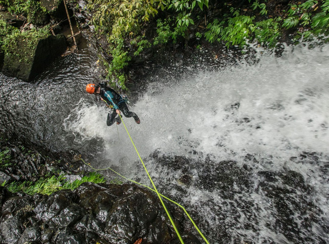 Canyoning Bali, Waterfall Bali,