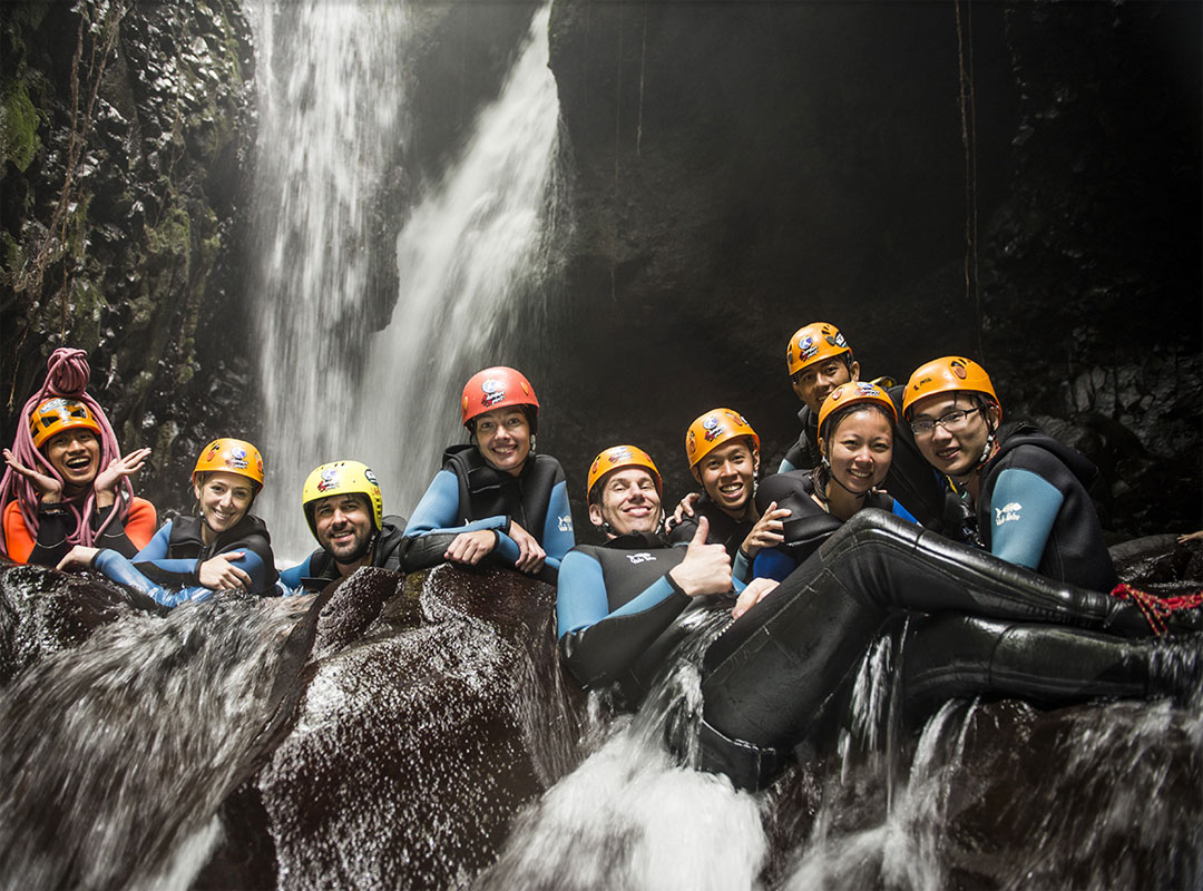 Extreme sport in Bali, Bali Canyoning, Most Wanted Canyoning Spot